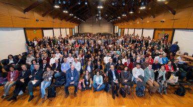 Foto grupal de los participantes de la StatPhys. (click para ampliar)