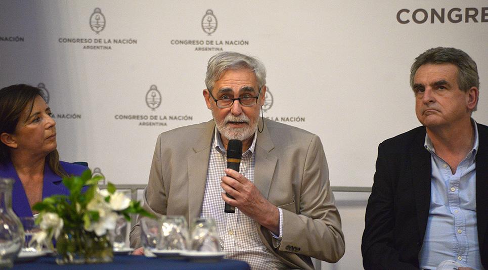 Juan Carlos Reboreda participó del panel de cierre de la jornada.